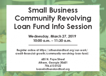 March monthly Small Business info session