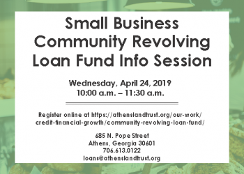 monthly Small Business info session April